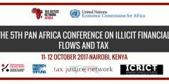 5th Pan African Conference on IFFs and Tax @ Nairobi   Nairobi County   Kenya