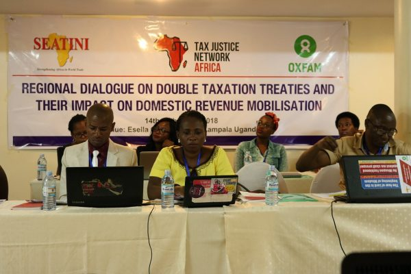 Stakeholders Dialogue on Double Taxation Treaties in Uganda