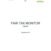 FTM Uganda 2016 Fair Tax Monitor