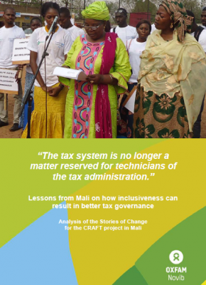 CRAFT Project's Stories of Change in Mali